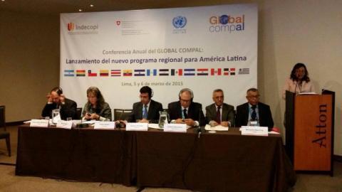 Lanzamiento del nuevo programa regional para América Latina